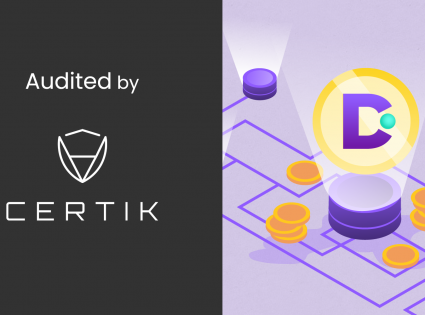 DeFiScale with a certificate of smart contract security